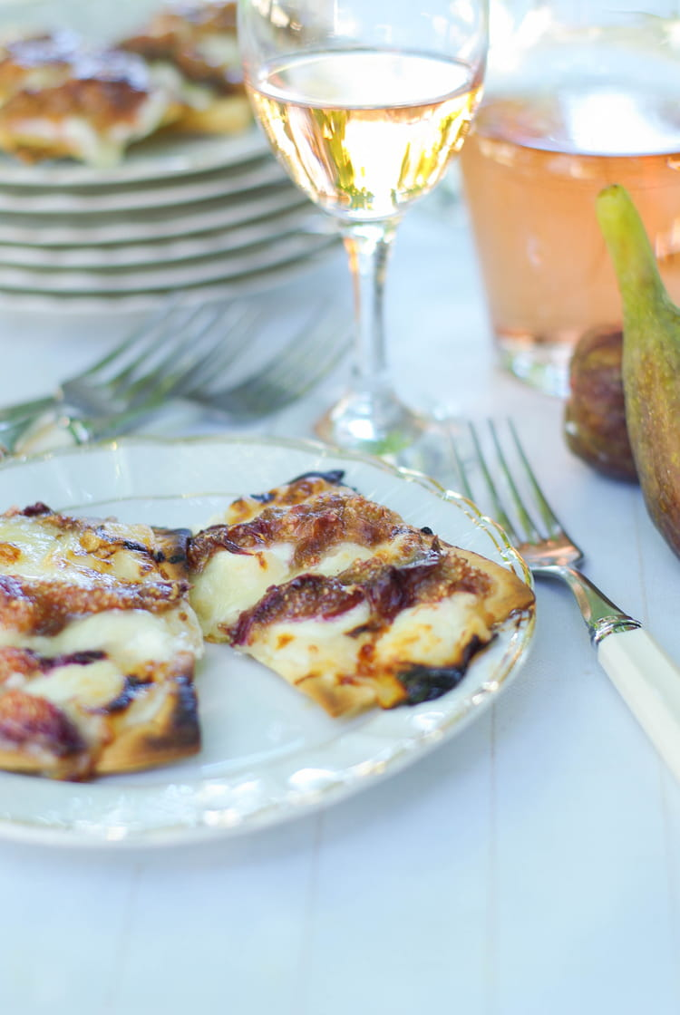 Recette de tartelettes figues miel et ch vre la recette - Cuisiner figues fraiches ...