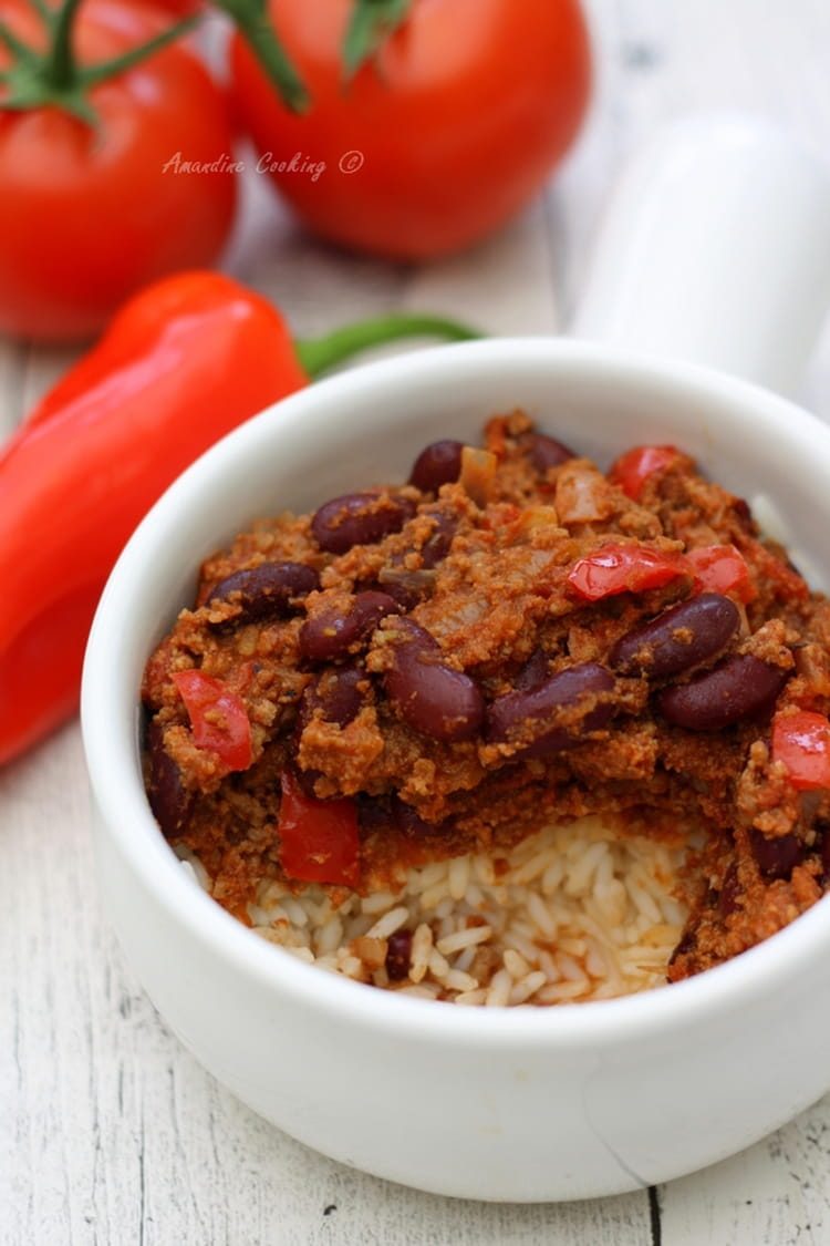Recette chili con carne pour 4 personnes - Recette chili cone carne thermomix ...