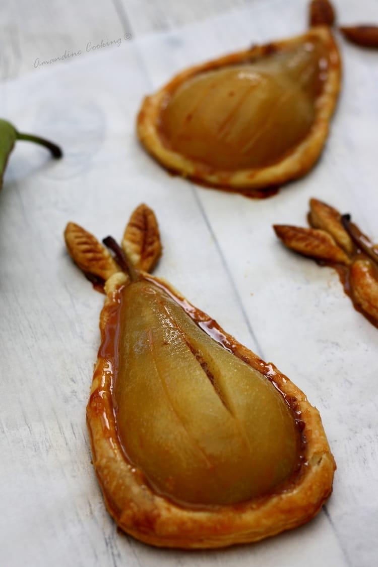 Recette de tartelettes feuillet es aux poires et confiture de lait la recette facile - Peut on congeler des poires ...