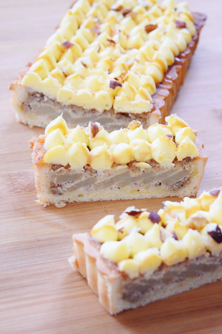recette de tarte bourdaloue aux poires amandes et. Black Bedroom Furniture Sets. Home Design Ideas