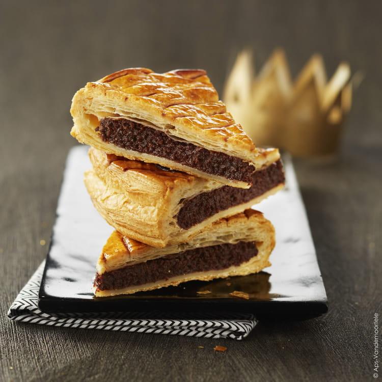 Recette de galette des rois la frangipane et chocolat for Galette des rois a la frangipane