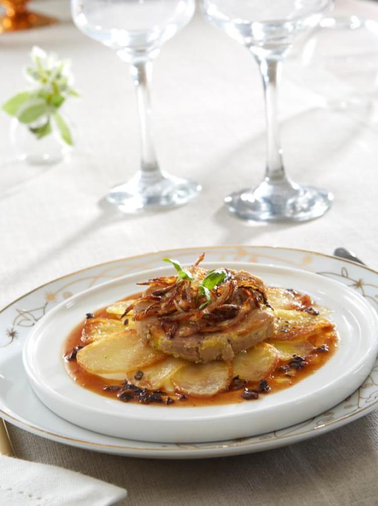 Ratte du touquet au foie gras la recette facile - Cuisiner la ratte du touquet ...