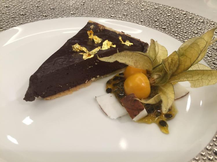 recette de tarte au chocolat onctueuse la recette facile. Black Bedroom Furniture Sets. Home Design Ideas