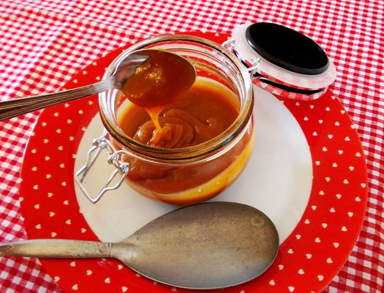 Recette de caramel au beurre sal la fleur de sel la recette facile - Recette caramel liquide facile ...
