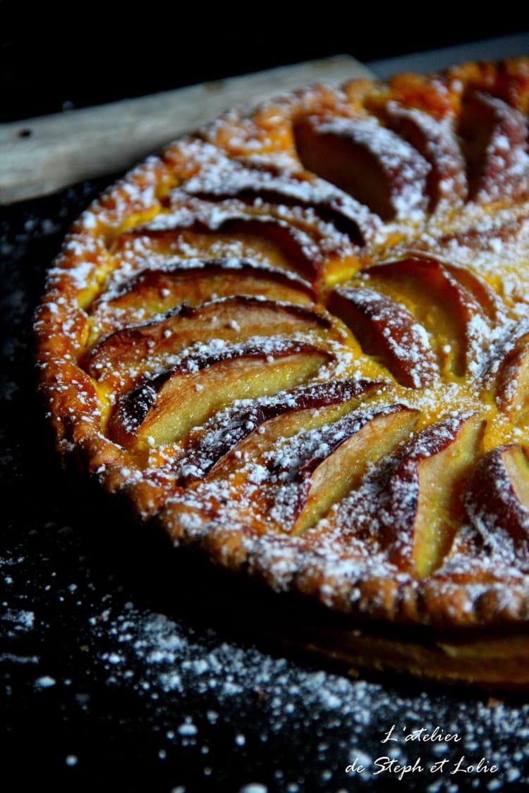 recette de tarte alsacienne aux pommes la recette facile. Black Bedroom Furniture Sets. Home Design Ideas
