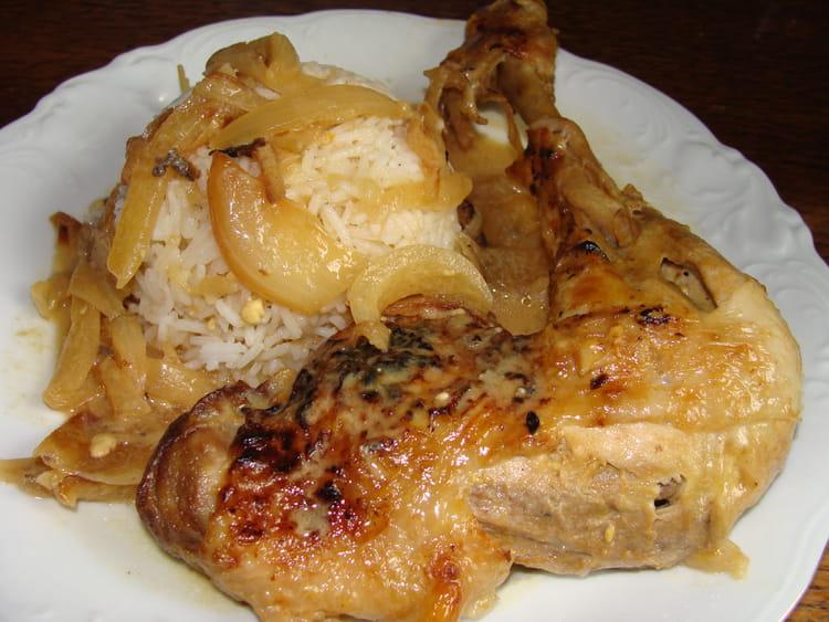 poulet yassa facile