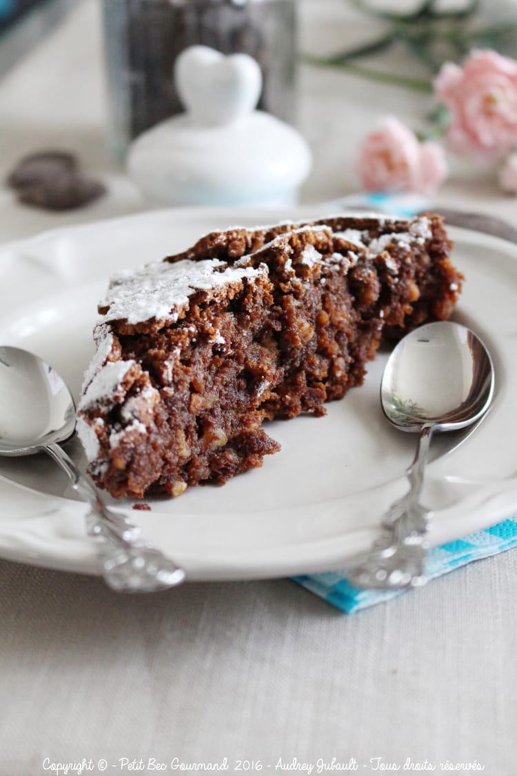 Recette de Gâteau chocolat amandes italien Torta Caprese : la recette ...