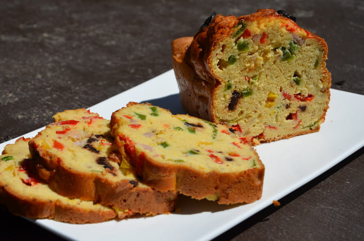 Recette Cake Aux Thon Et Olives