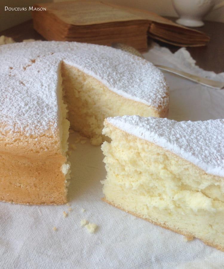 Recette Gâteau Mousseline (Gâteau