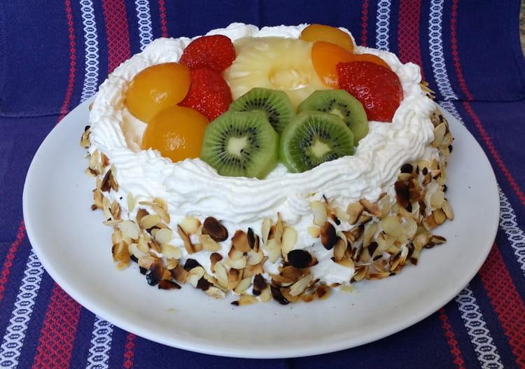 Recette de Gâteaux aux fruits et à la chantilly : la recette facile