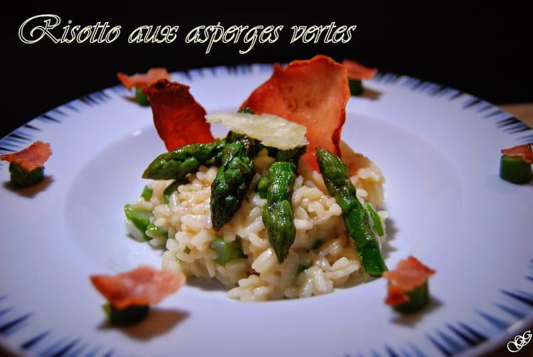 recette risotto aux asperges vertes risotto. Black Bedroom Furniture Sets. Home Design Ideas