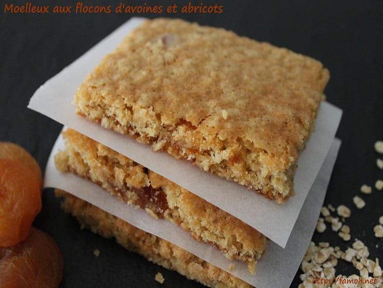 moelleux aux flocons d avoine et abricots la recette facile