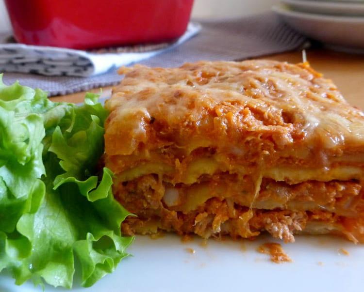 recette de lasagnes au thon tomates et ricotta la recette facile. Black Bedroom Furniture Sets. Home Design Ideas