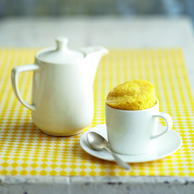 Mug Cake Citron Maizena