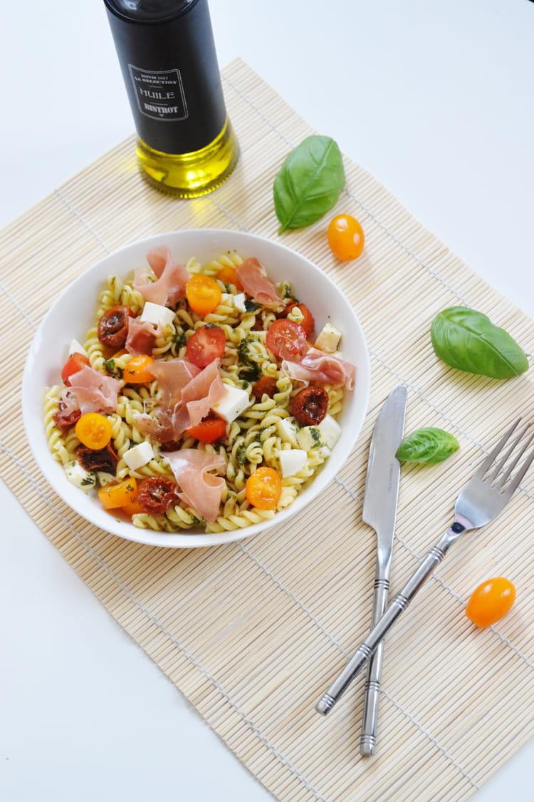 recette de salade de p 226 te 224 l italienne la recette facile
