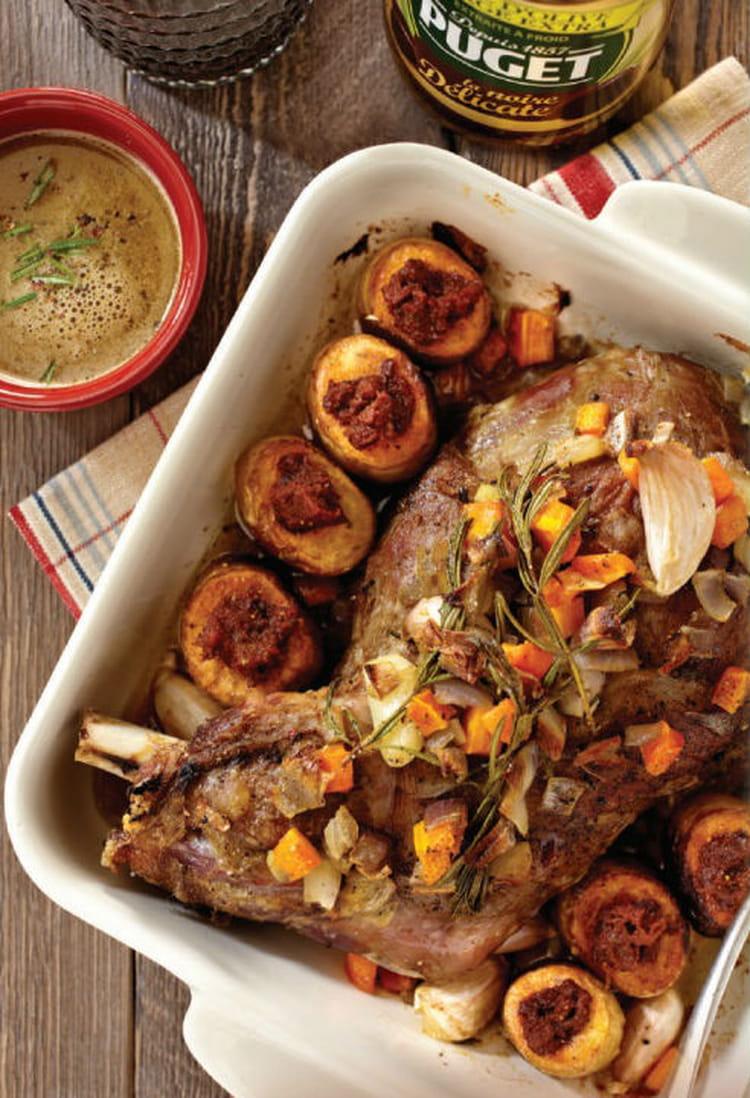 Epaule d agneau r tie la recette facile - Cuisiner epaule d agneau ...