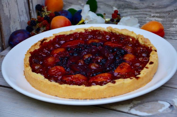 recette de tarte aux mirabelles abricots quetsches et fruits rouges la recette facile. Black Bedroom Furniture Sets. Home Design Ideas