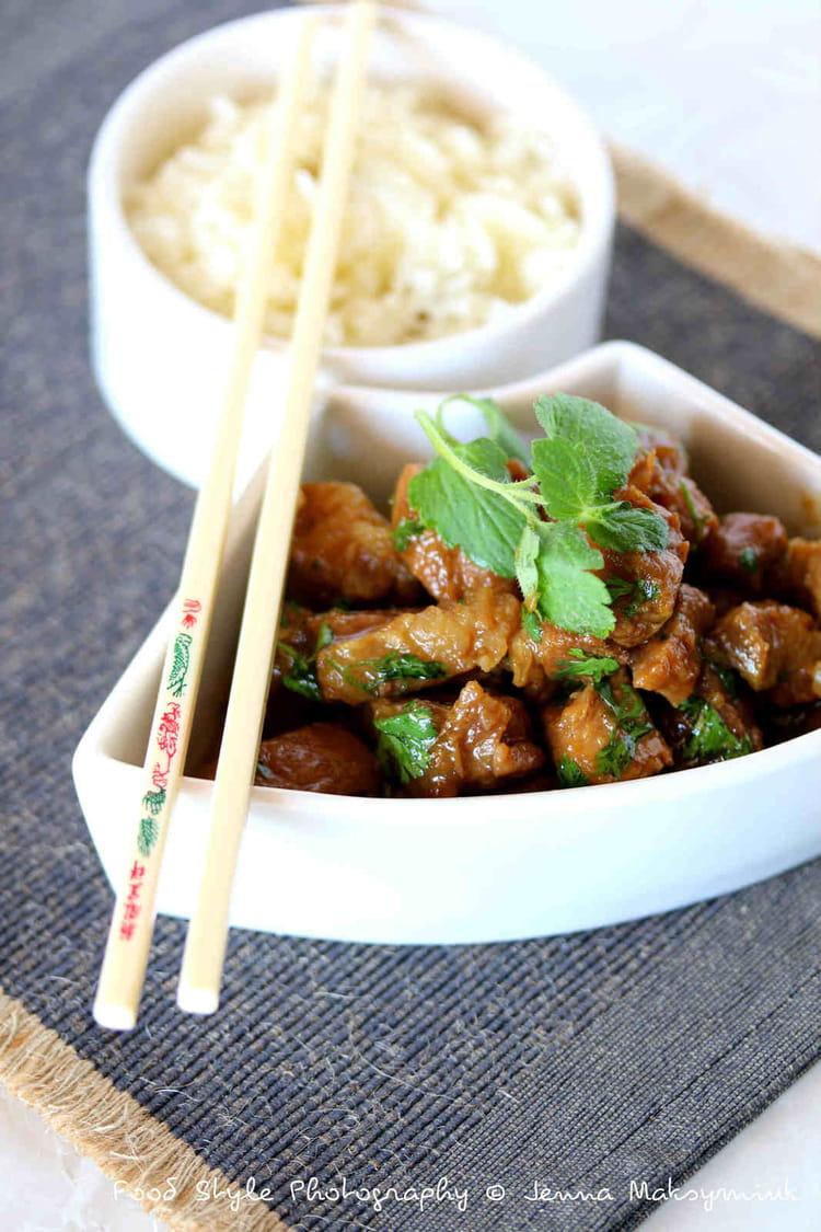 Recette de porc au caramel la recette facile - Comment cuisiner les germes de soja frais ...