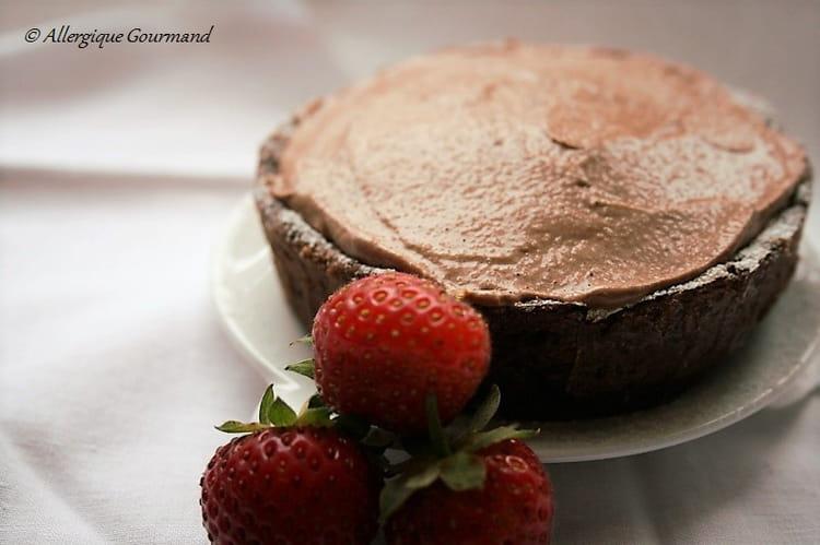 Recette de tarte la mousse au chocolat bio sans ufs ni gluten la recette facile - Tarte au chocolat sans oeuf ...