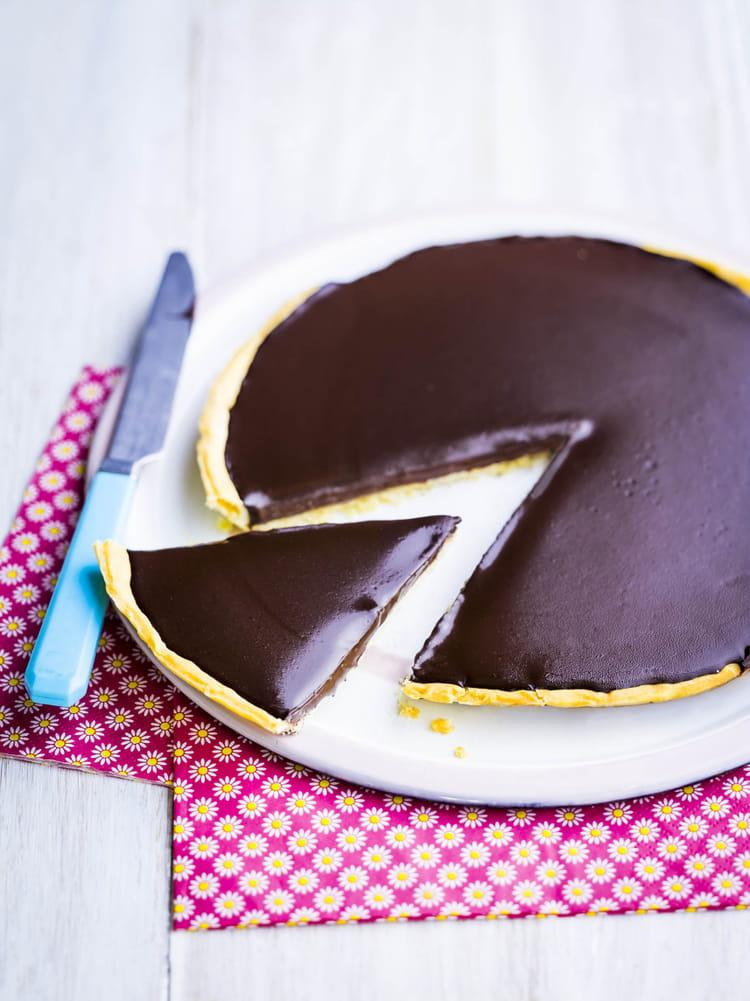 Tarte au chocolat poulain carambar la recette facile - Tarte aux chocolat facile ...