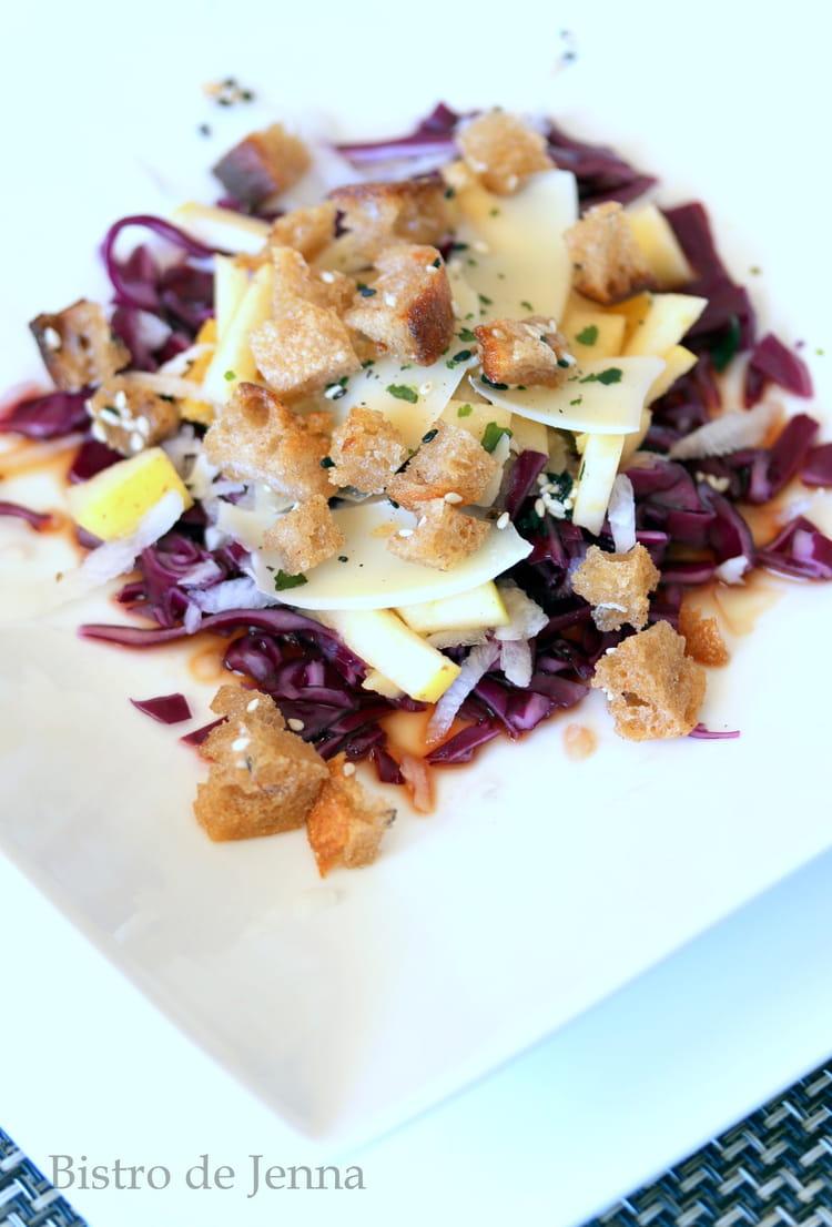 Vinaigrette asiatique pour salade de chou : Recette de