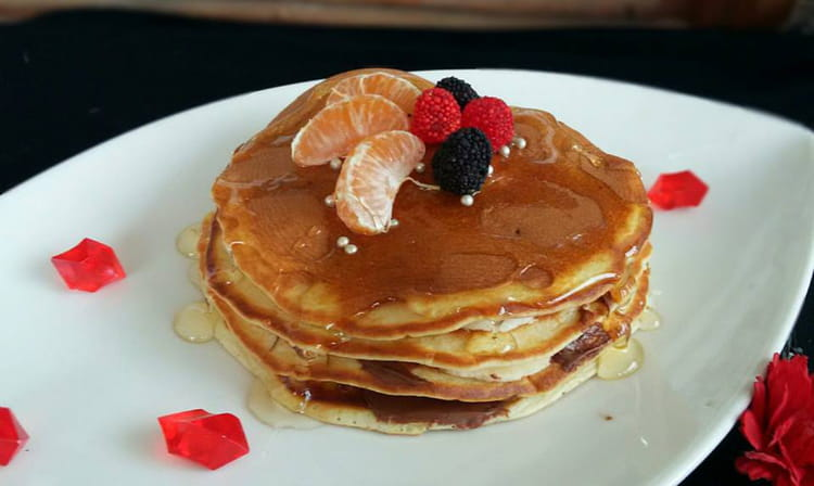 recette de pancakes extra moelleux au nuttela. Black Bedroom Furniture Sets. Home Design Ideas