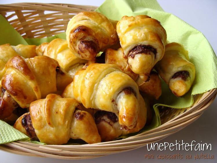 recette de croissants au nutella la recette facile