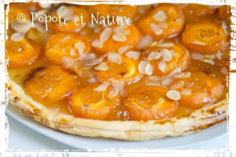 Recette de tarte aux abricots confiture et amandes la recette facile - Recette de tarte aux abricots ...
