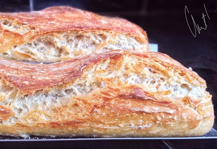 Recette de baguettes maison et sans map la recette facile for Baguettes de pain maison