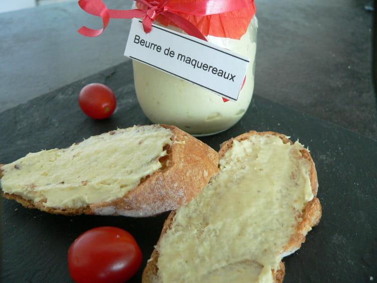 Recette de beurre de maquereaux la recette facile - Cuisiner des maquereaux ...