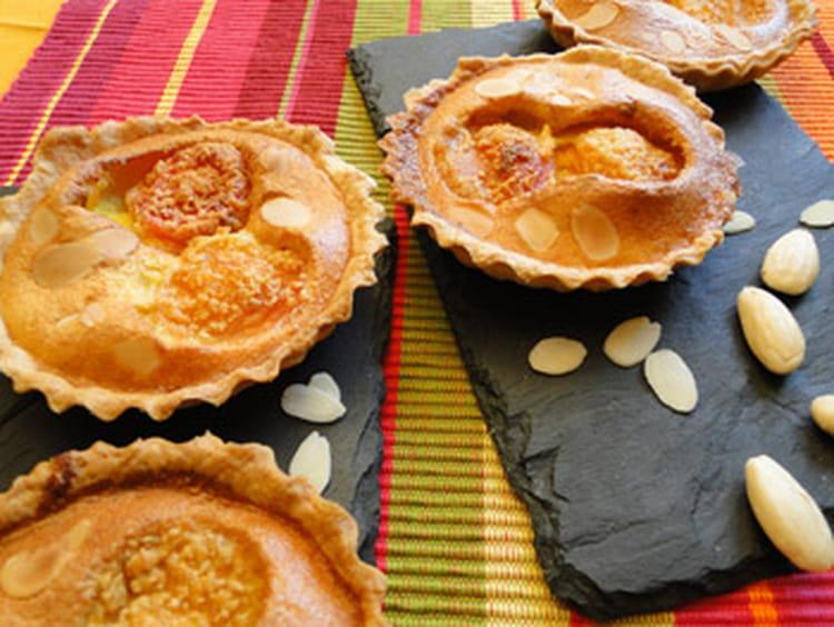 recette de tartelettes amandine aux abricots la recette. Black Bedroom Furniture Sets. Home Design Ideas