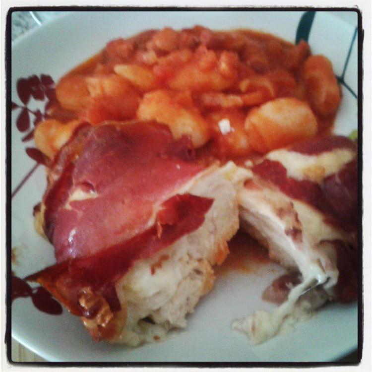 Recette de filets de poulet la mozzarella en papillote - Cuisiner la mozzarella ...