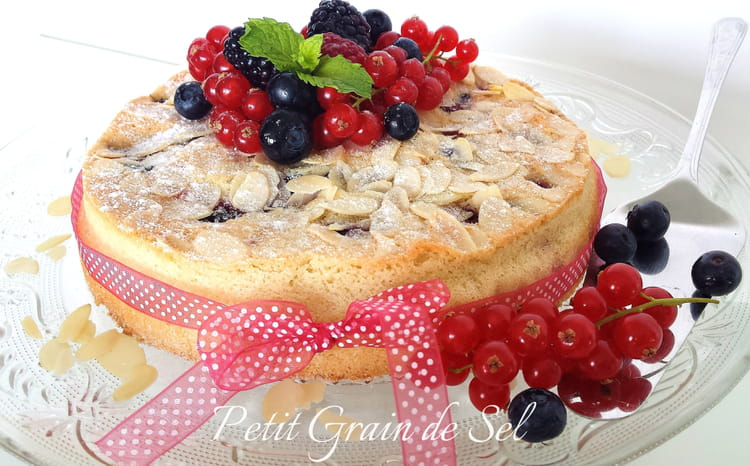 Cake aux fruits recipe
