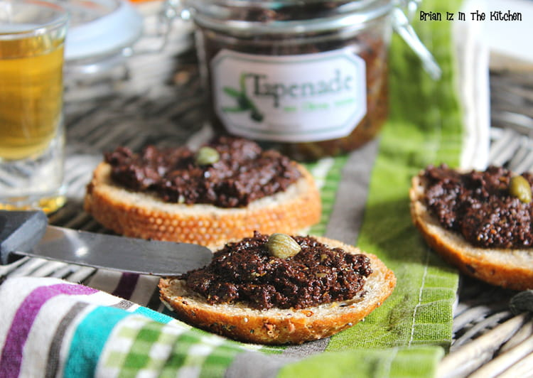 recette de tapenade aux olives noires sans anchois la. Black Bedroom Furniture Sets. Home Design Ideas