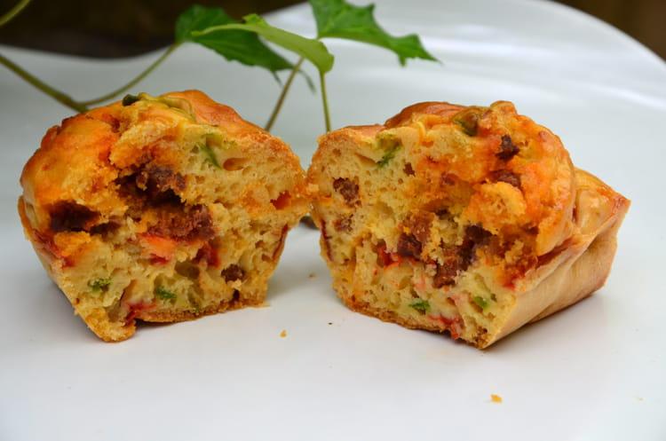 Cake Chorizo Et Poivrons