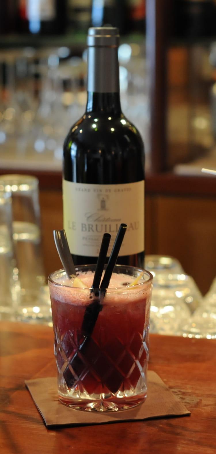 recette de cocktail au vin rouge red velvet la recette facile. Black Bedroom Furniture Sets. Home Design Ideas