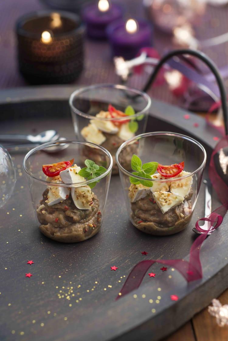 recette de caviar d aubergines et mini caprice la recette facile. Black Bedroom Furniture Sets. Home Design Ideas