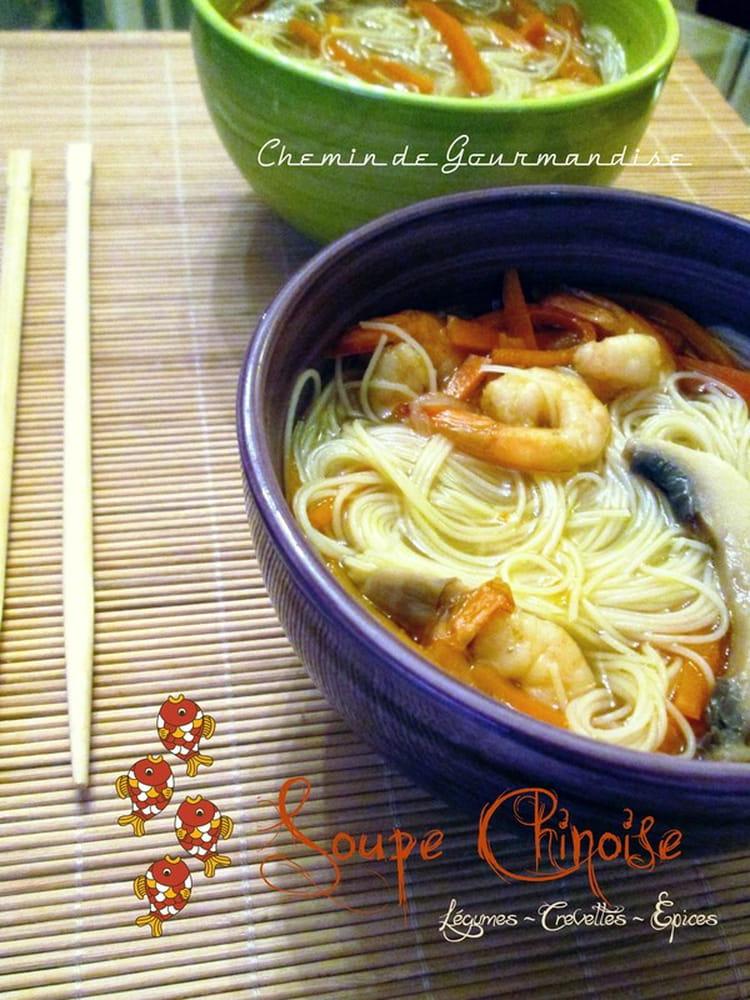recette de soupe chinoise la recette facile. Black Bedroom Furniture Sets. Home Design Ideas