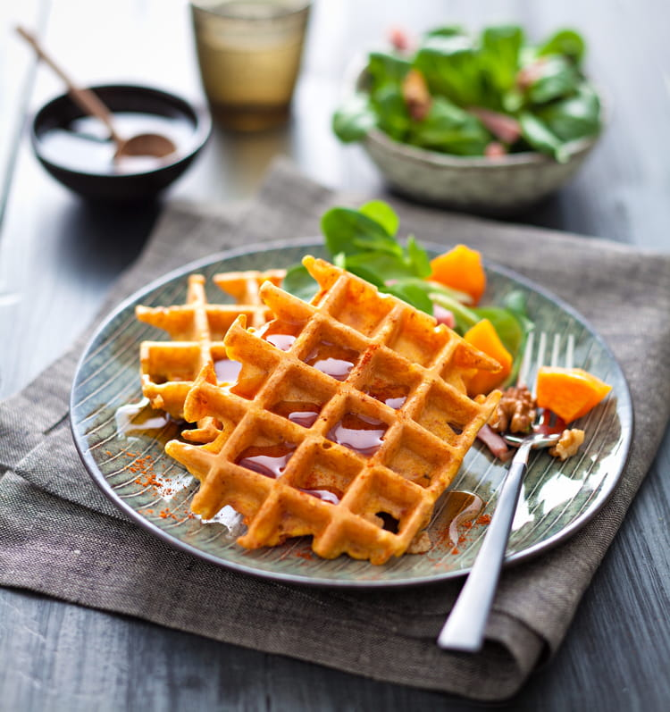 recette de gaufre la courge butternut la recette facile. Black Bedroom Furniture Sets. Home Design Ideas
