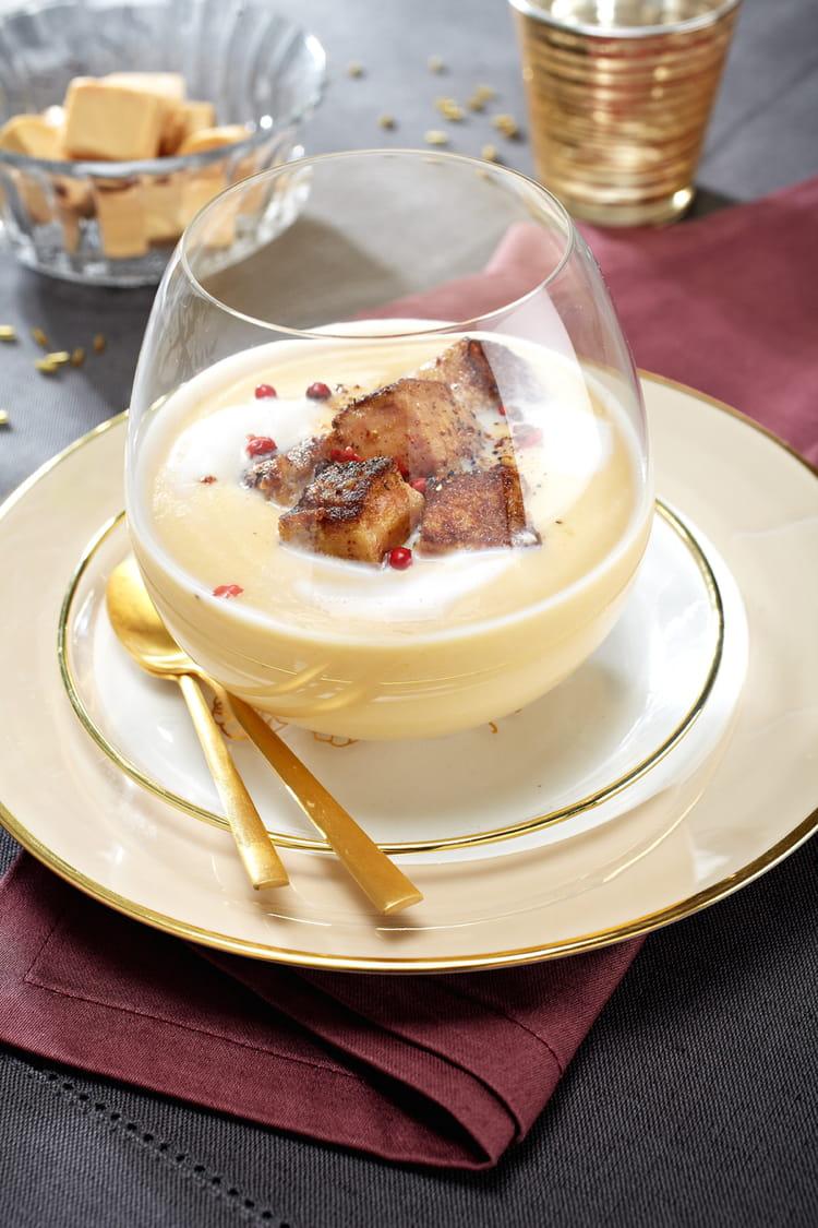 Crèmes au foie gras caramélisées express