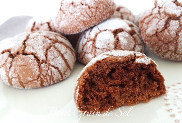 recette biscuits crinkles au chocolat biscuits. Black Bedroom Furniture Sets. Home Design Ideas