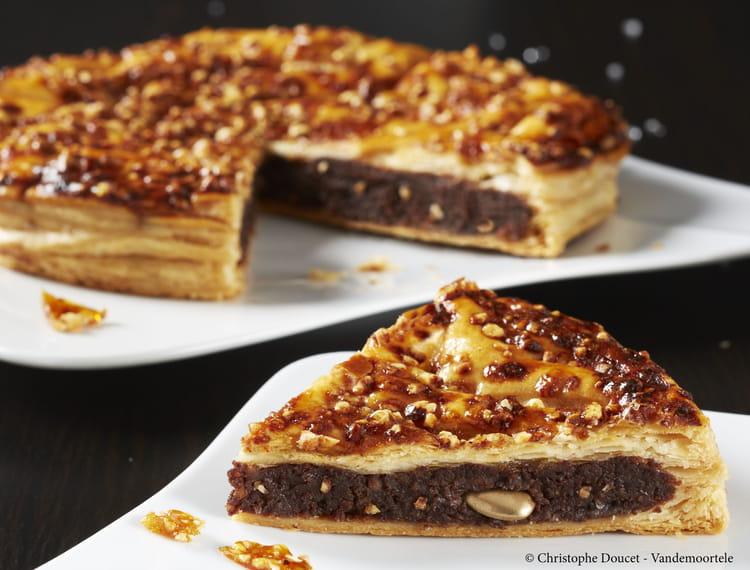 recette de galette des rois frangipane nougatine chocolat la recette facile. Black Bedroom Furniture Sets. Home Design Ideas