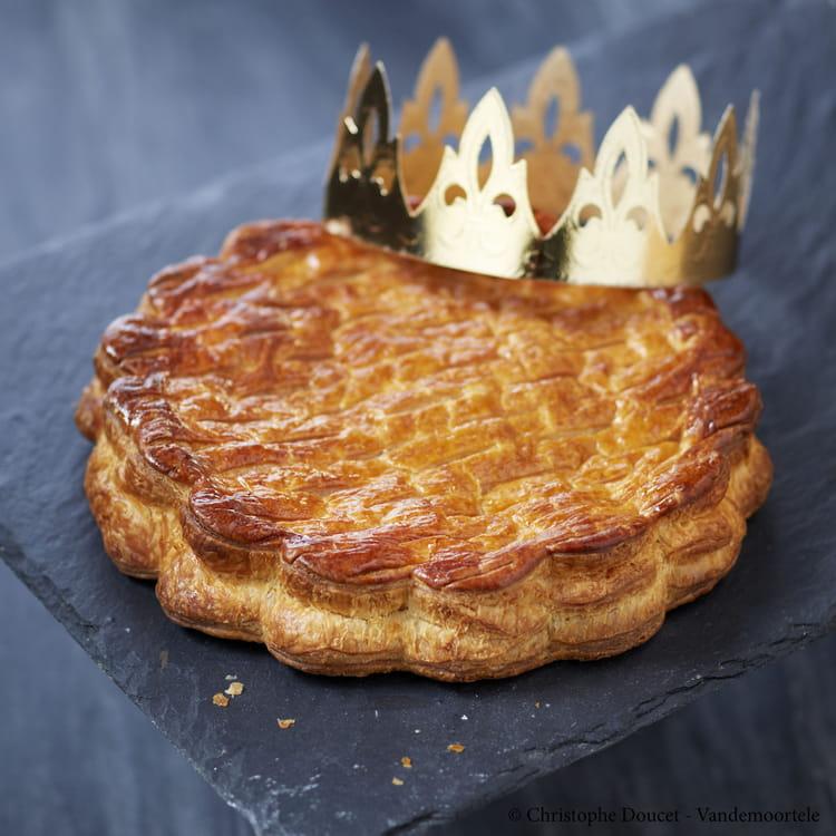 Recette de galette des rois pomme tatin la recette facile - Recette facile galette des rois ...