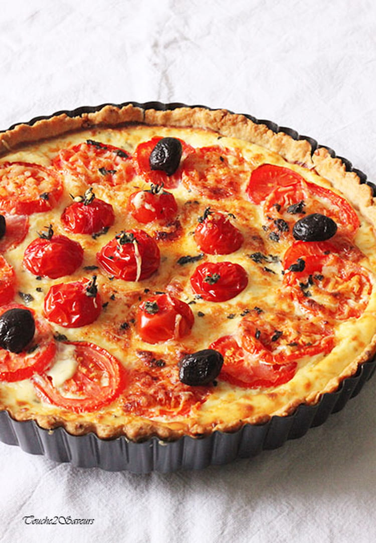 recette tarte tomate ricotta tarte sal e. Black Bedroom Furniture Sets. Home Design Ideas