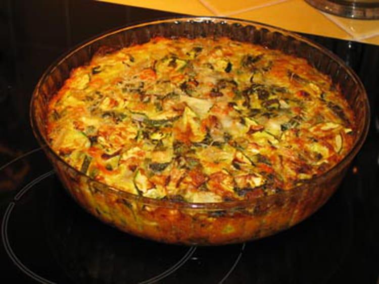 recette de tarte aux courgettes sans p 226 te la recette