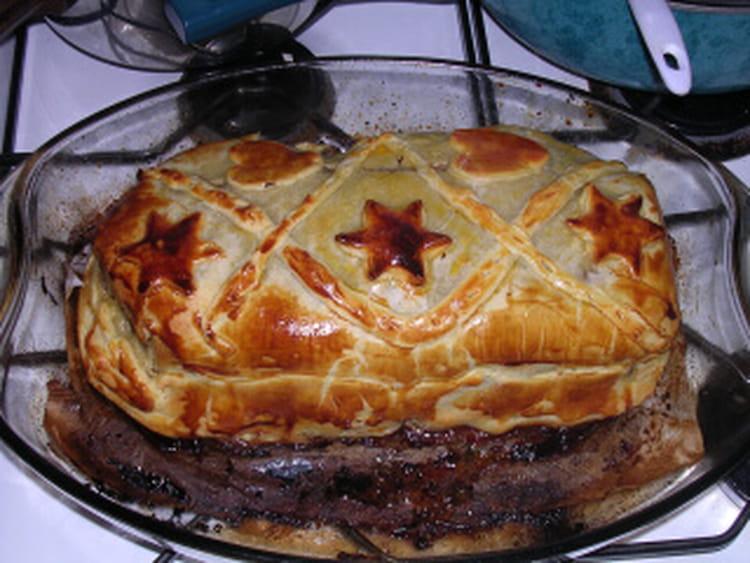 Recette de r ti de boeuf en cro te la recette facile - Cuisiner roti de boeuf ...