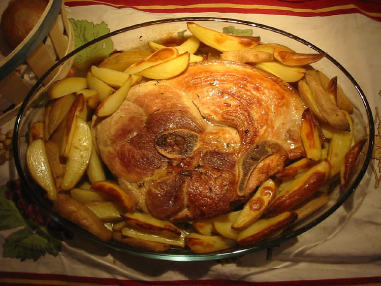 Beau Cuisiner Rouelle De Porc #2: Rouelle-de-porc-aux-pommes-de-terre.jpg