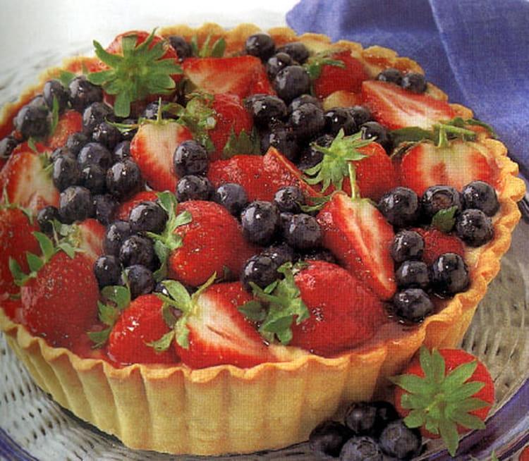 recette de tarte aux baies de saison fruits rouges la recette facile. Black Bedroom Furniture Sets. Home Design Ideas