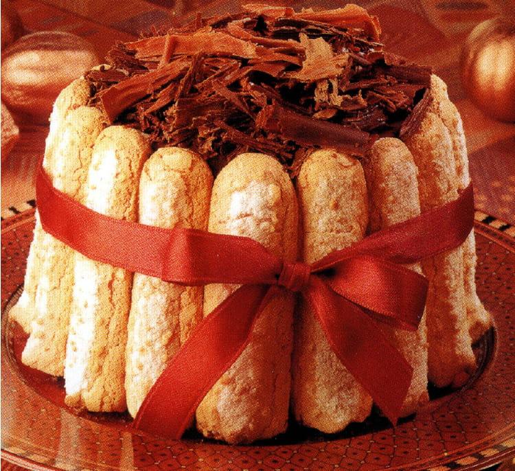Recette charlotte au chocolat pour 6 personnes - Charlotte au chocolat facile ...