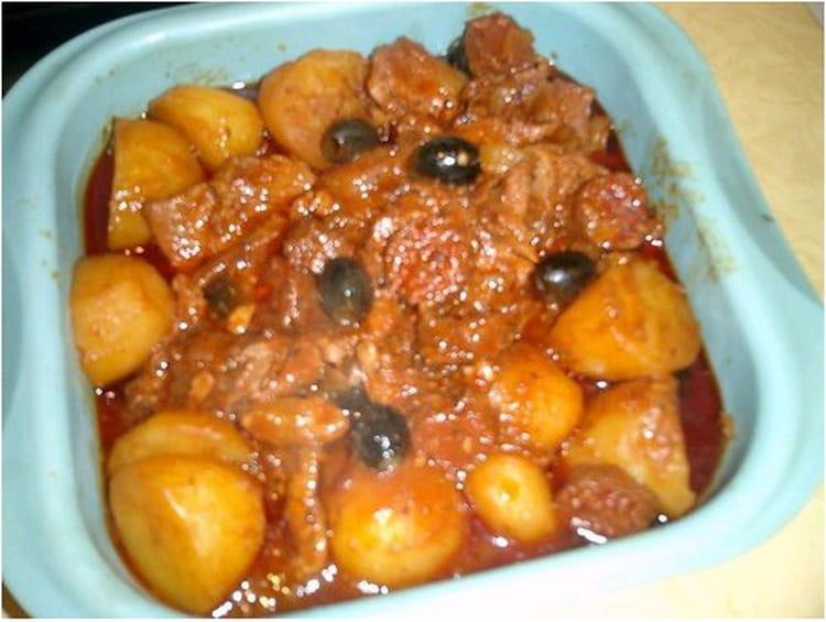 Recette de saut de veau de lisbonne la recette facile - Cuisiner le collier de veau ...